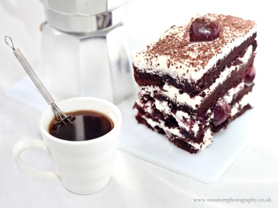Skyscraper Black Forest Cake