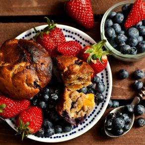 Berryburst Muffins