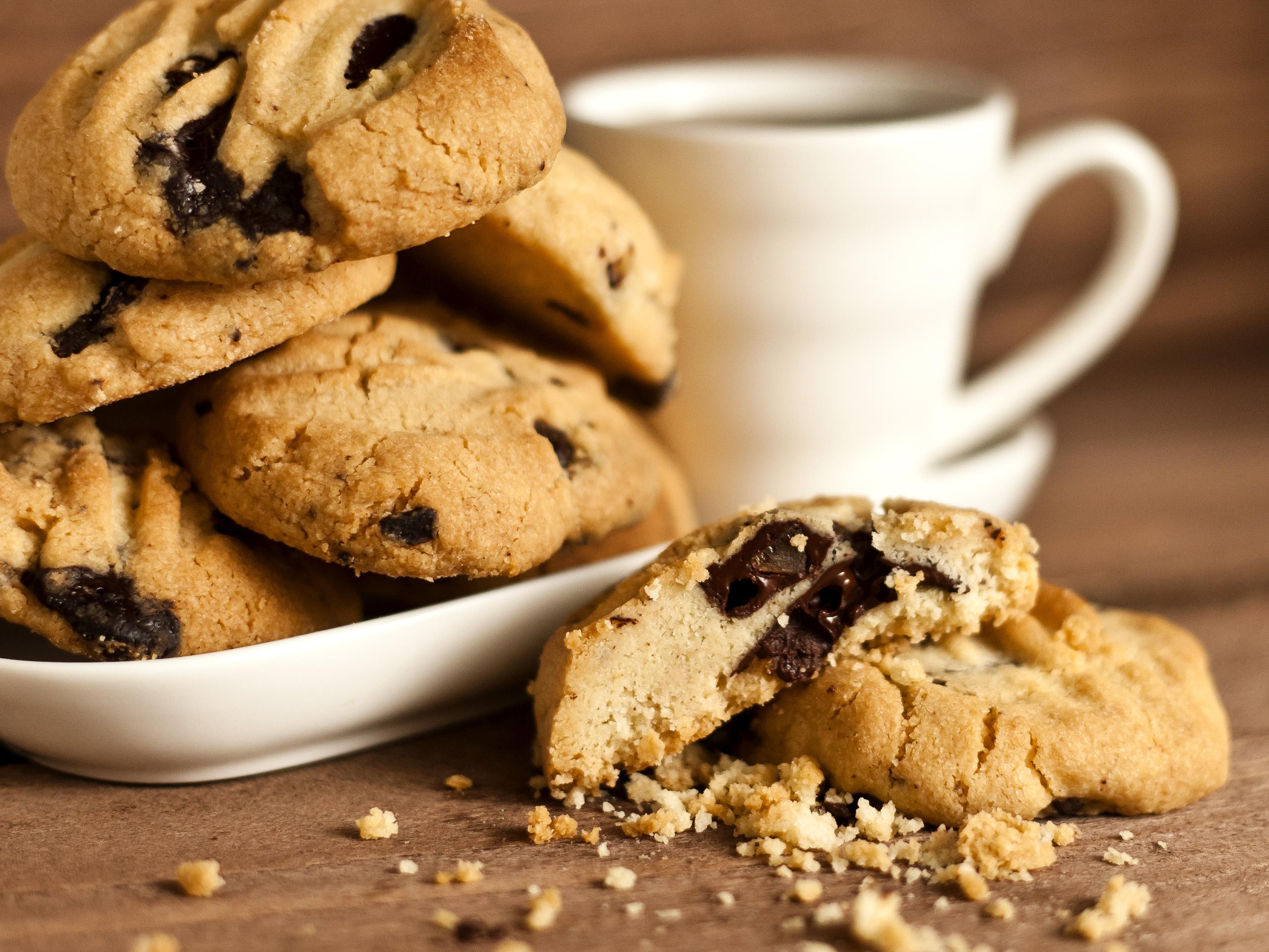 Картинки печенье с кофе