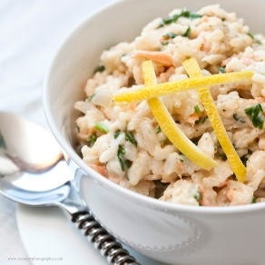 Smoked Salmon, Parsley & Lemon Risotto