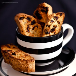 Sour Cherry & Almond Biscotti