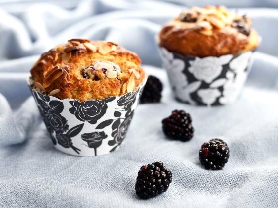 Blackberry Buttermilk Muffins 3