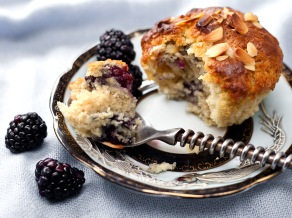 Blackberry Buttermilk Muffins 4