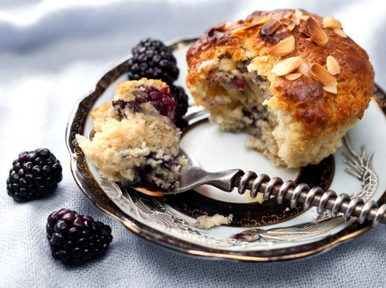 Blackberry Buttermilk Muffins 4