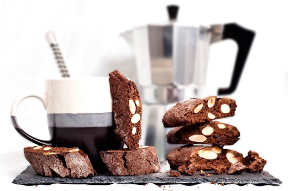 Double Chocolate Almond Biscotti 1