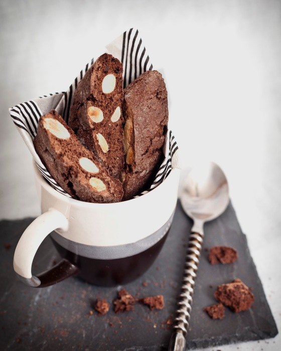 Double Chocolate Almond Biscotti 3