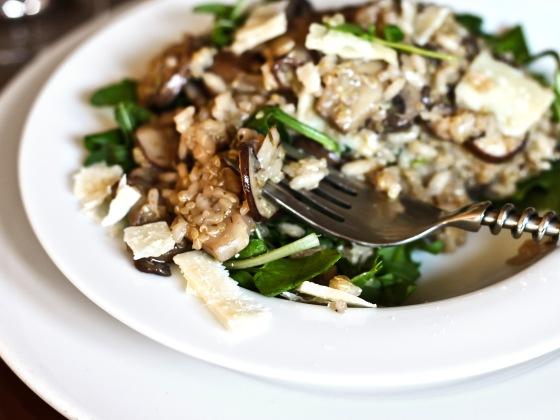 Mushroom Quinoa Risotto 2