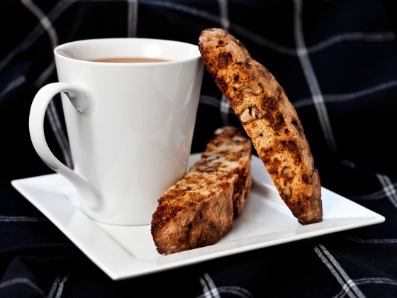 Butterscotch Praline White Chocolate Biscotti 001