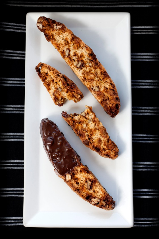 Butterscotch Praline White Chocolate Biscotti 012
