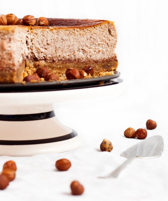 Hazelnut Mocha Cheesecake 3