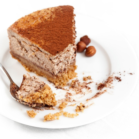 Hazelnut Mocha Cheesecake 4