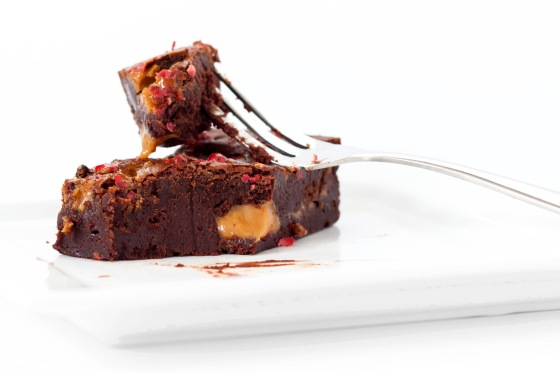 Pink Peppercorn Candy Milk Brownies 5