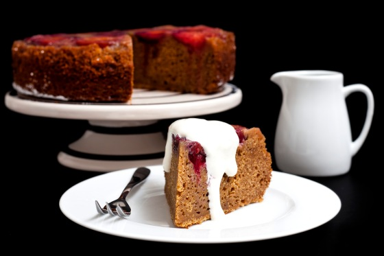 Plum & Ginger Cake (3)