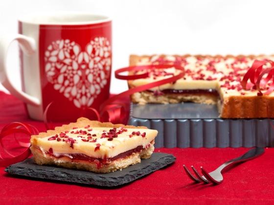 White Chocolate, Raspberry & Chilli Tart 3