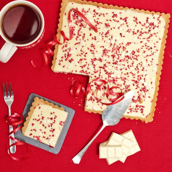 White Chocolate, Raspberry & Chilli Tart 5